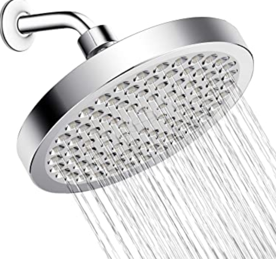 fixed shower heads
