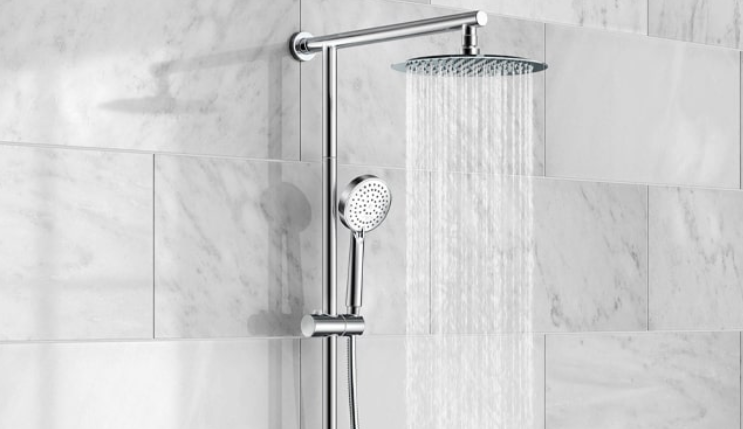 types of shower heads