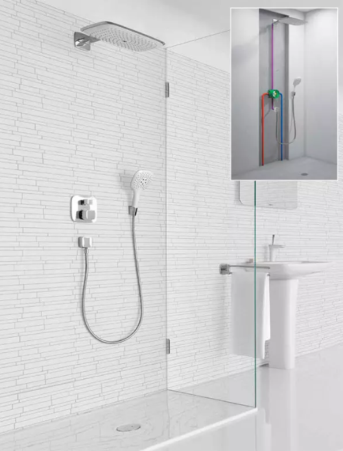 how do shower faucets work