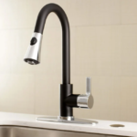 two tone kitchen faucets